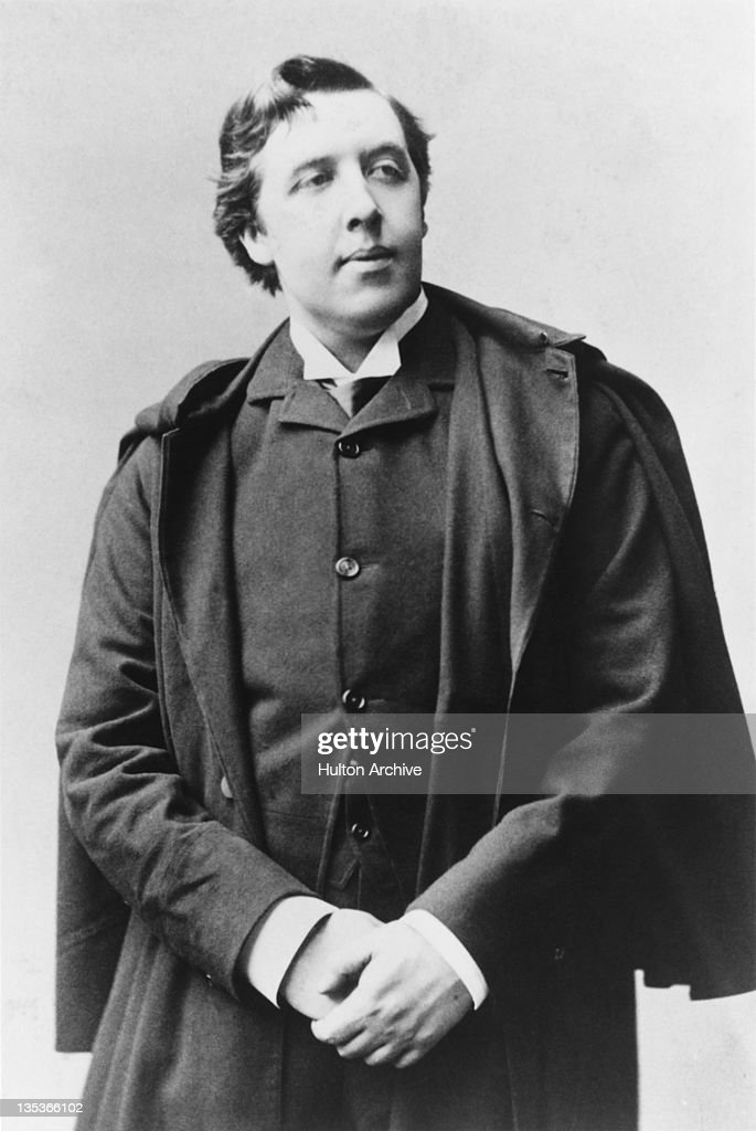 Irish playwright and poet <a gi-track='captionPersonalityLinkClicked' href=/galleries/search?phrase=Oscar+Wilde&family=editorial&specificpeople=240419 ng-click='$event.stopPropagation()'>Oscar Wilde</a> (1854 - 1900), 1887.