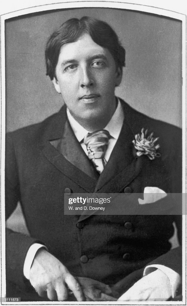 Irish playwright, novelist, essayist, poet and wit <a gi-track='captionPersonalityLinkClicked' href=/galleries/search?phrase=Oscar+Wilde&family=editorial&specificpeople=240419 ng-click='$event.stopPropagation()'>Oscar Wilde</a> (1854 - 1900), 28th May 1889.