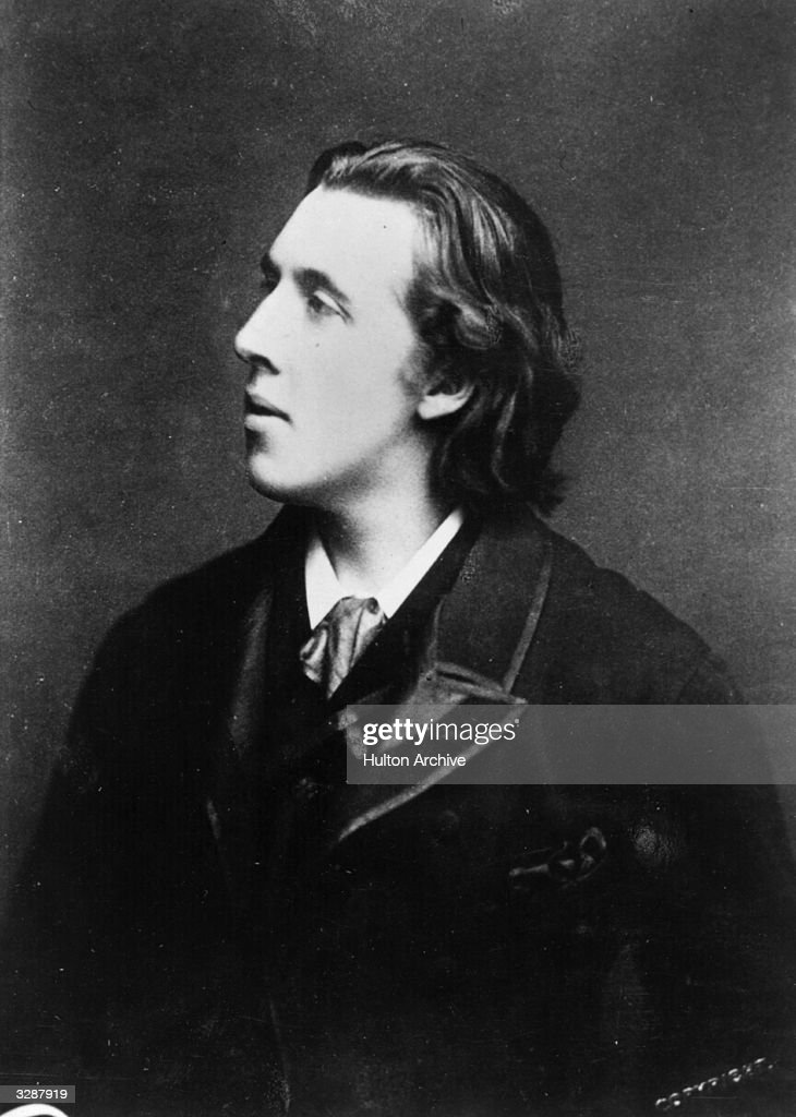 Irish playwright, novelist, poet and essayist <a gi-track='captionPersonalityLinkClicked' href=/galleries/search?phrase=Oscar+Wilde&family=editorial&specificpeople=240419 ng-click='$event.stopPropagation()'>Oscar Wilde</a> (1854 - 1900).