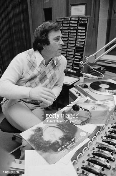Irish radio and television broadcaster Terry Wogan presents the breakfast programme on BBC Radio 2 at BBC Broadcasting House in London on 10th March...