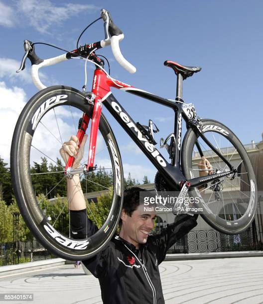 Irish rider Philip Deignan from the Cervelo test team at the Ritz Carlton Hotel in Powerscourt Co Dublin for the launch of this years Tour of Ireland...