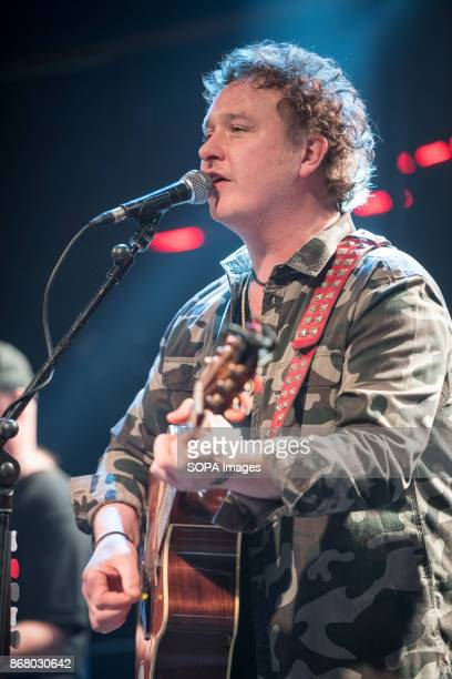 Irish singer and songwriter Mundy performs live at The Academy