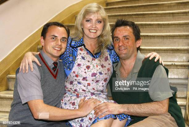Irish singer Linda Nolan in Bournemouth where she is returning to her role of Mrs Johnstone in the award winning musical Blood Brothers following her...
