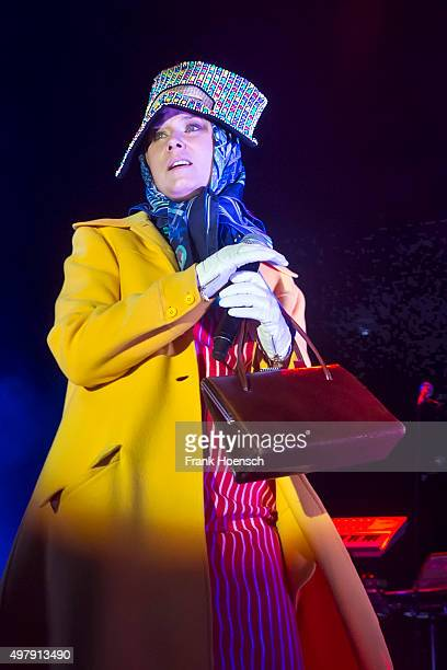 Irish singer Roisin Murphy performs live during a concert at the Tempodrom on November 19 2015 in Berlin Germany