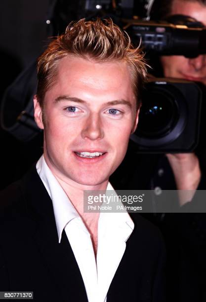Irish singer Ronan Keating arrives at the Manchester Evening News Arena for the first ever Top Of The Pops Awards * Ronan Keating was celebrating his...