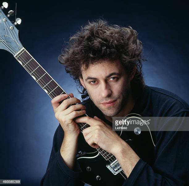 Irish singer songwriter and musician Bob Geldof 18th September 1986
