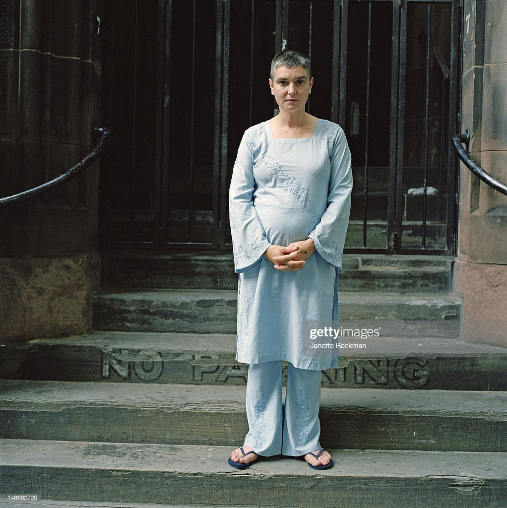 Irish singer-songwriter Sinead O'Connor, New York City, 2010.