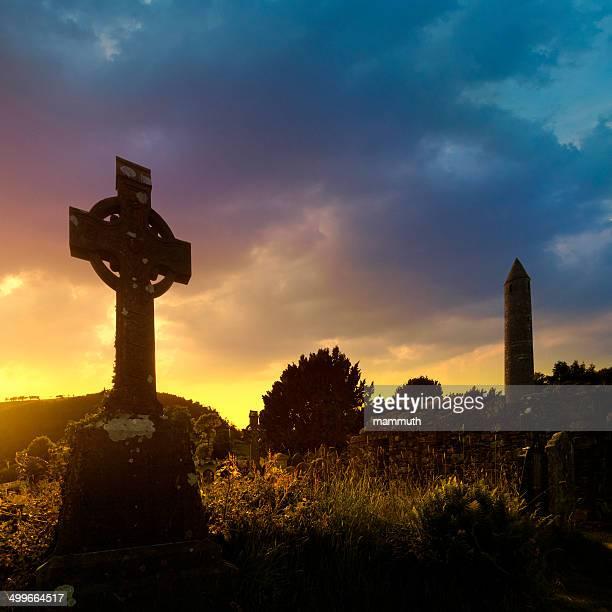 irish coucher du soleil