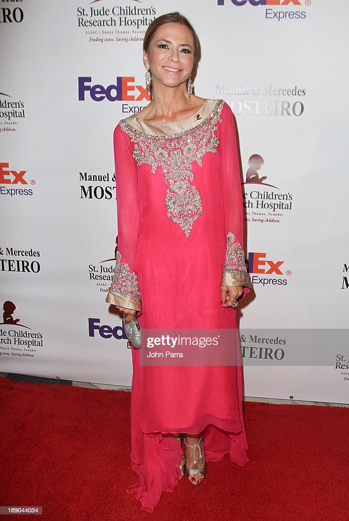 Irma Martinez attends 11th annual FedEx/St. Jude Angels & Stars Gala in Miami at JW Marriott Marquis on May 18, 2013 in Miami, Florida.