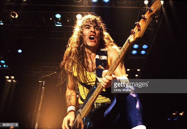 Iron Maiden 1987 Steve Harris Chris Walter