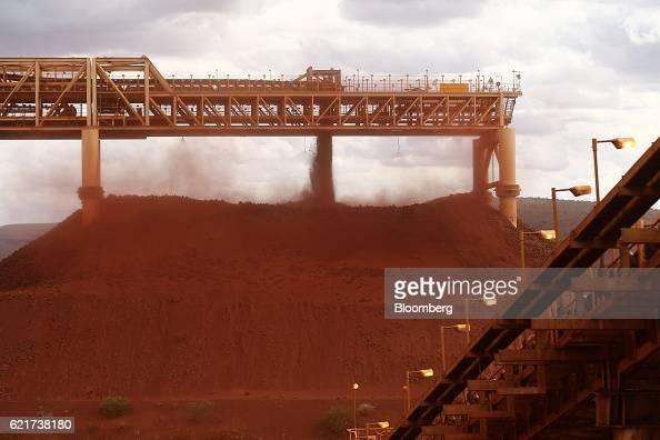 Fmg mining operations in the desert