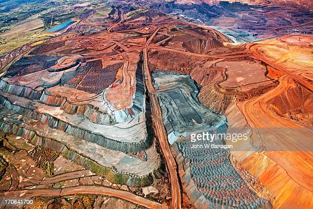Iron ore mine, Mount Whaleback