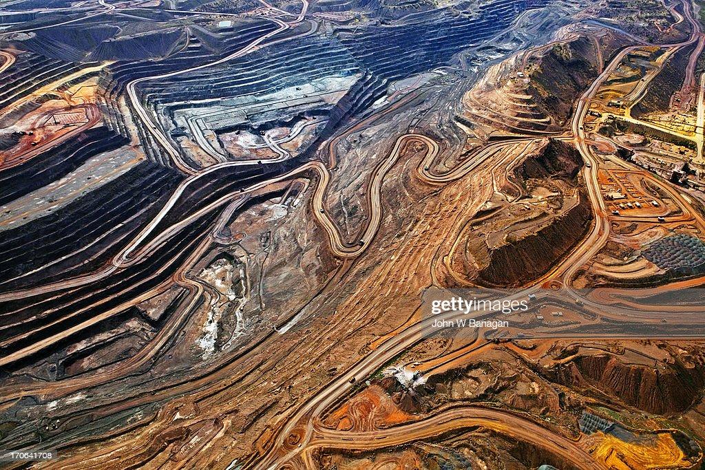Iron ore mine, Mount Whaleback