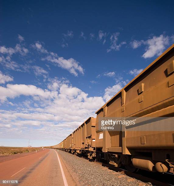 Iron Ore Train Cars