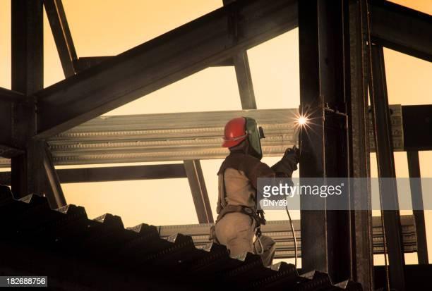 Iron Arbeiter Schweißen