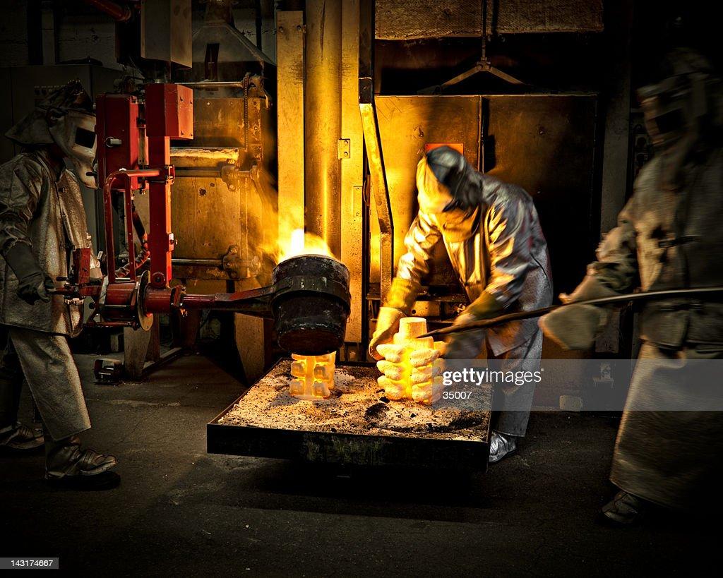 iron workers : Stock Photo