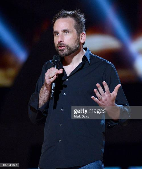 Irrational Games cofounder Ken Levine speaks onstage during Spike TV's 10th annual Video Game Awards at Sony Studios on December 7 2012 in Culver...