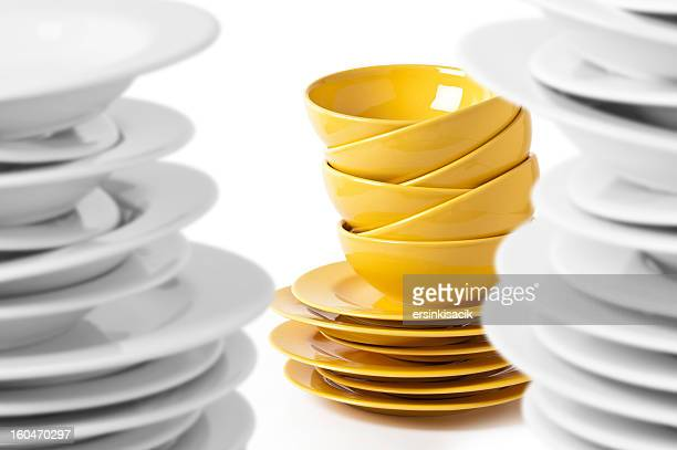 Irregular Plates and Bowls