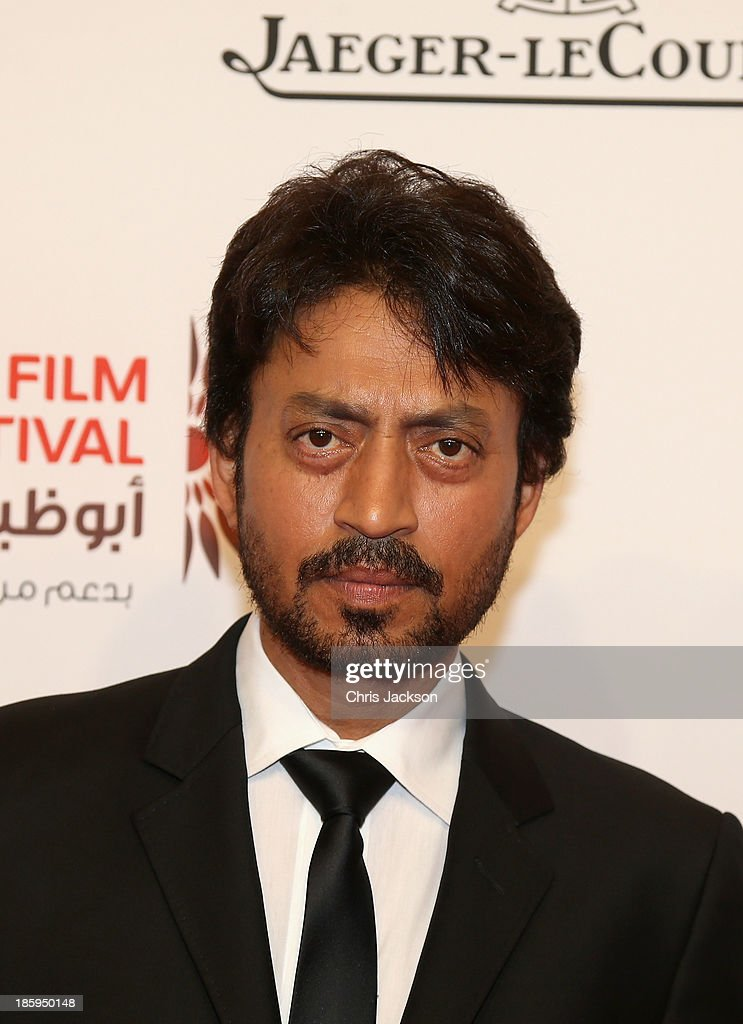 Irrfan Khan attends the 'Qissa: The Tale of a Lonely Ghost' premiere on day 3 of the Abu Dhabi Film Festival 2013 at Emirates Palace on October 26, 2013 in Abu Dhabi, United Arab Emirates.