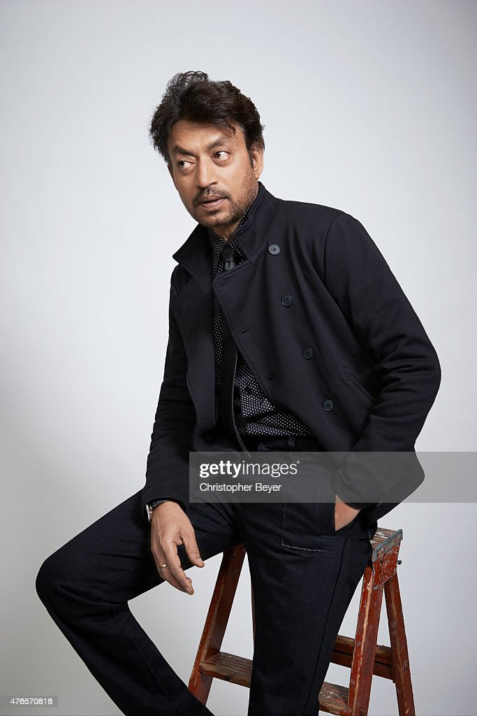 Irrfan Khan is photographed for Entertainment Weekly Magazine on January 25, 2014 in Park City, Utah.