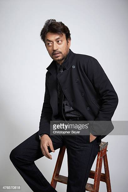 Irrfan Khan is photographed for Entertainment Weekly Magazine on January 25 2014 in Park City Utah