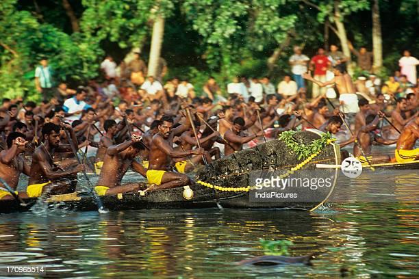 Iruttukuthi race boat Alapuzha Kerala India