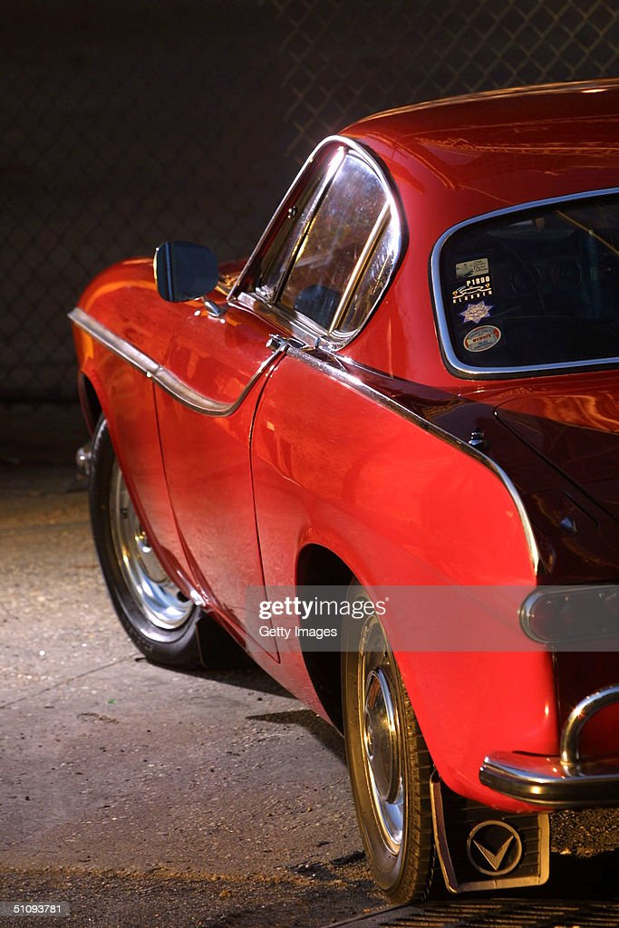 Irv Gordon's 1966 Volvo P1800 Is Seen In This Undated Photo Gordon Was Honored For Driving The Car Two Million Miles