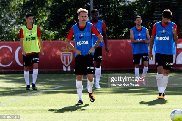 Irvin Cardona of Monaco during training session of As Monaco on June 30 2017 in Monaco Monaco