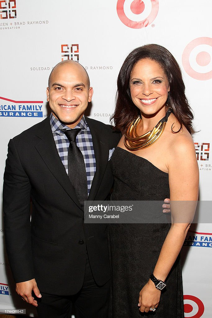Irvin Mayfield and <a gi-track='captionPersonalityLinkClicked' href=/galleries/search?phrase=Soledad+O%27Brien&family=editorial&specificpeople=223926 ng-click='$event.stopPropagation()'>Soledad O'Brien</a> attends the 3rd Annual New Orleans to New York Benefit Gala at Donna Karen's Stephen Weiss Studio on July 25, 2013 in New York City.