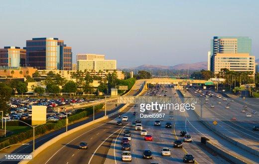 Irvine Skyline and freeway