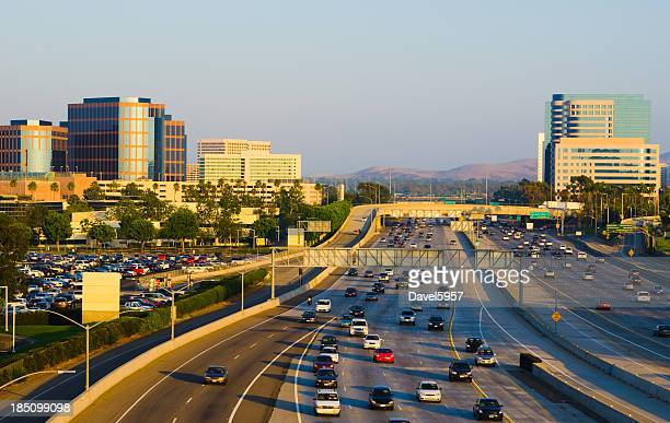 Irvine Skyline and freeway