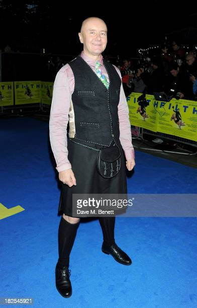 Irvine Welsh attends the London Premiere of 'Filth' at the Odeon West End on September 30 2013 in London England