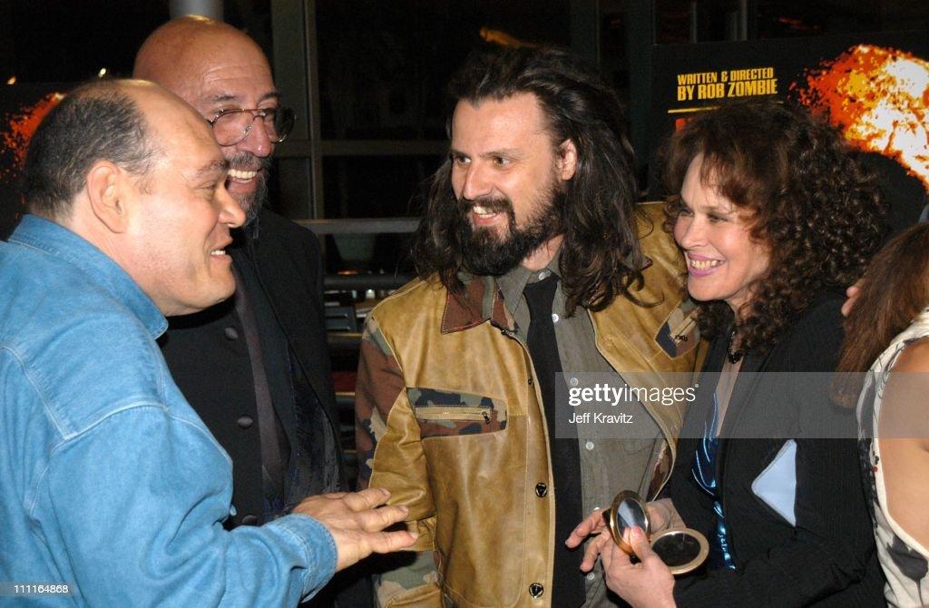 Irwin Kessler, Sid Haig, Rob Zombie and Karen Black