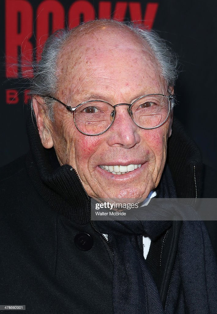 <a gi-track='captionPersonalityLinkClicked' href=/galleries/search?phrase=Irwin+Winkler&family=editorial&specificpeople=209307 ng-click='$event.stopPropagation()'>Irwin Winkler</a> attends the 'Rocky' Broadway Opening Night at Winter Garden Theatre on March 13, 2014 in New York City.