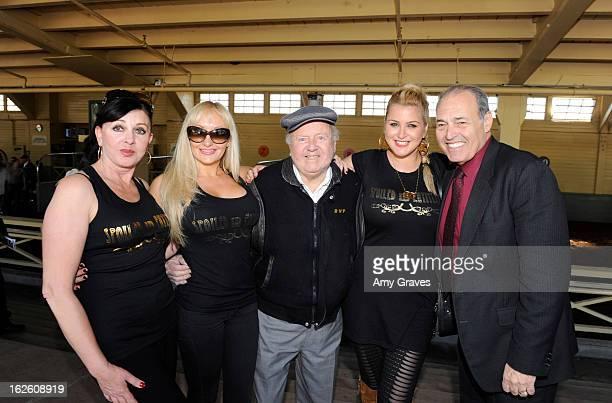 Iryna Burke Dita Clark Dick Van Patten Josie Goldberg and Phil Daniels attend Reality TV Personality Josie Goldberg and her race horse...