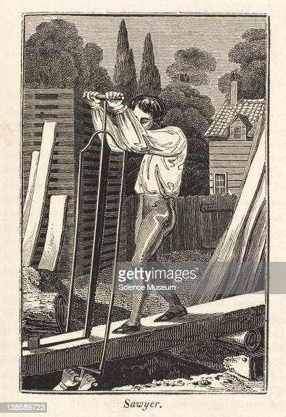 Is a person who cuts the trunks of trees of various kinds into beams planks c for the use of carpenters and joiners for the purposes of building