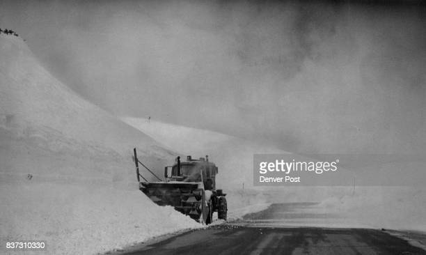 Is Clearing Away Snow Really A Breeze A snow blower handled the job along highway near the top of Loveland Pass Thursday And this probably won't be...