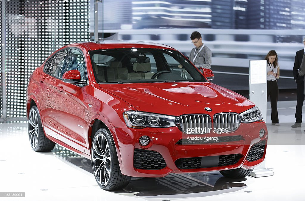 X4 is displayed during the 2014 New York International Auto Show at the Jacob Javits Center New York, United States on April 17, 2014.