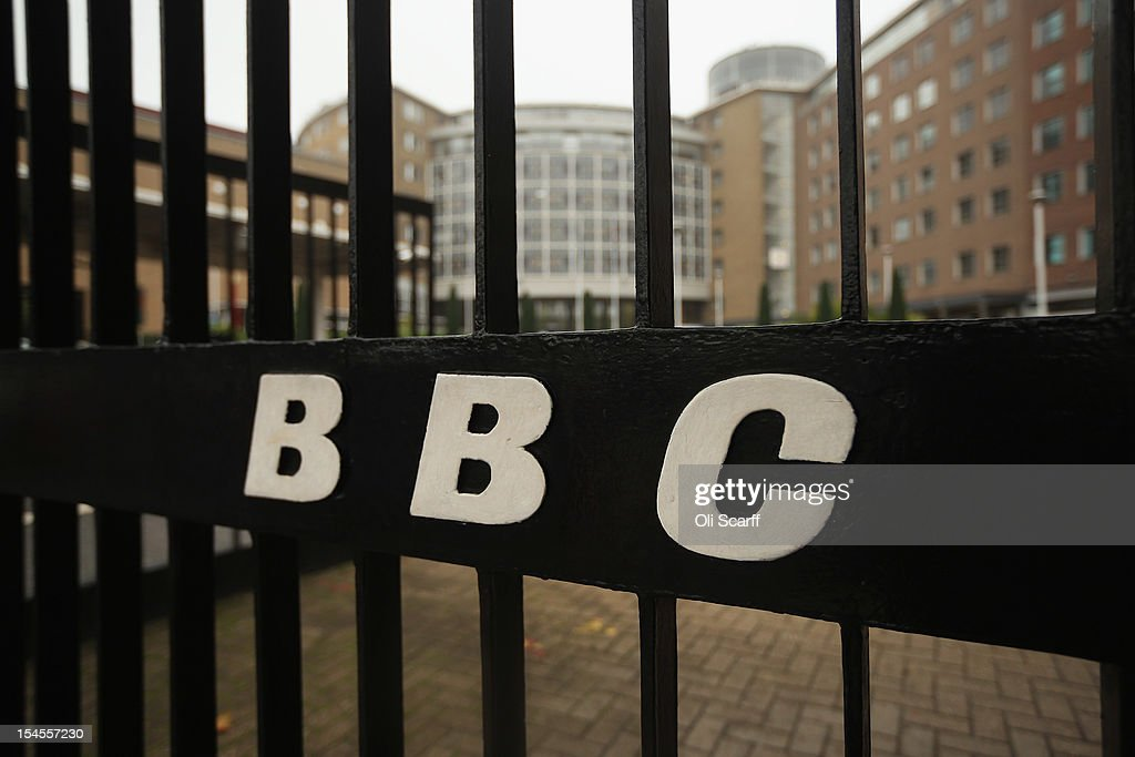 BBC is displayed on the gates to BBC Television Centre on October 22, 2012 in London, England. The BBC producer in charge of a Newsnight documentary into sexual abuse allegations concerning Sir Jimmy Savile, the transmission of which was subsequently dropped, had warned his editor that the BBC could be accused of a cover-up. Police confirmed that the Sir Jimmy Savile, 84, the BBC presenter and DJ who died in October 2011, may have sexually abused young girls on BBC premises.