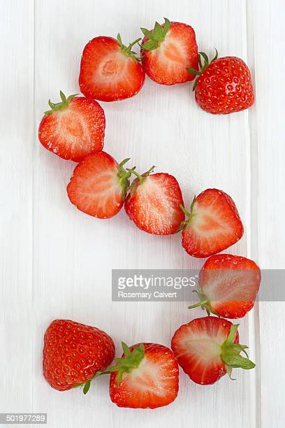 S is for Strawberries juicy and ripe