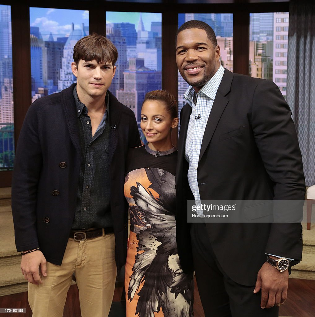 RICHIE is Michaels co-host this morning and Ashton Kutcher is a guest on 'LIVE with Kelly and Michael,' distributed by Disney-ABC Domestic Television. ASHTON