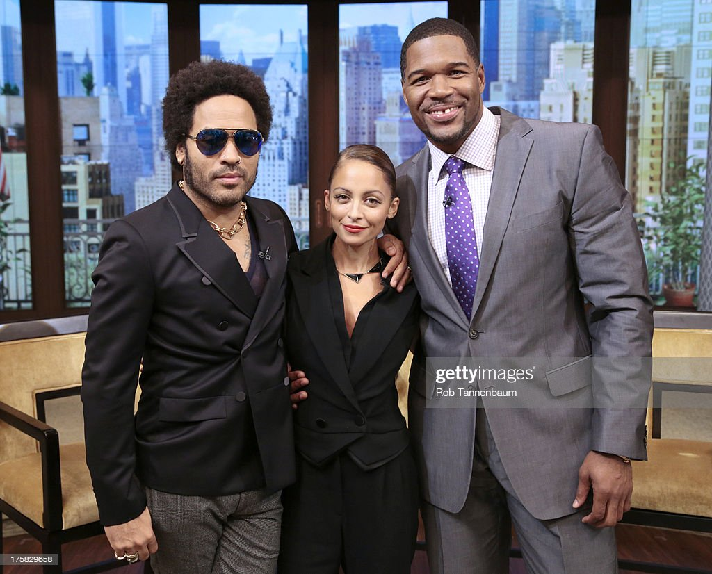 RICHIE is Michaels co-host this morning and Lenny Kravitz is a guest on 'LIVE with Kelly and Michael,' distributed by Disney-ABC Domestic Television. LENNY