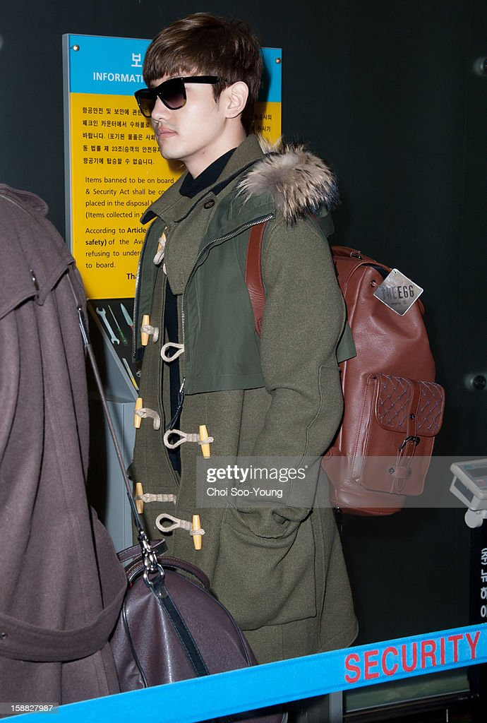 <a gi-track='captionPersonalityLinkClicked' href=/galleries/search?phrase=TVXQ&family=editorial&specificpeople=4304740 ng-click='$event.stopPropagation()'>TVXQ</a> is seen at Incheon International Airport on December 22, 2012 in Incheon, South Korea.