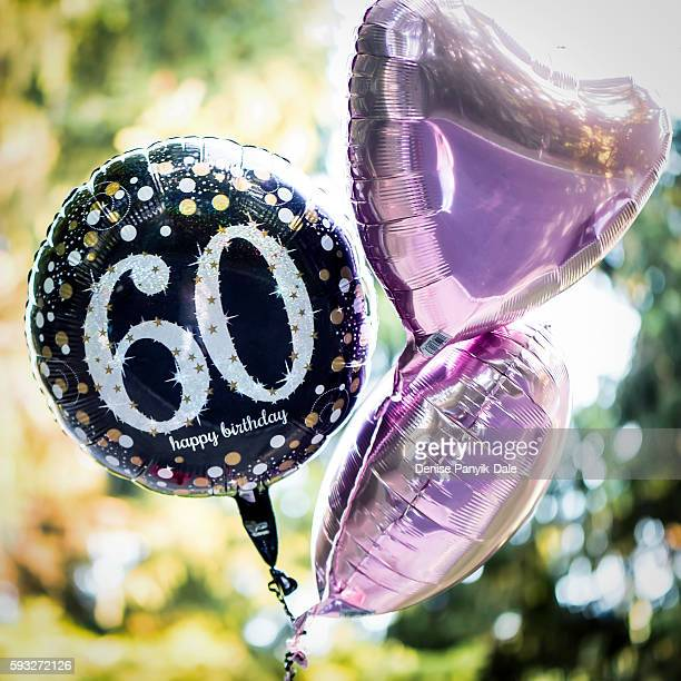 60 is the new 40...60th Birthday Balloons