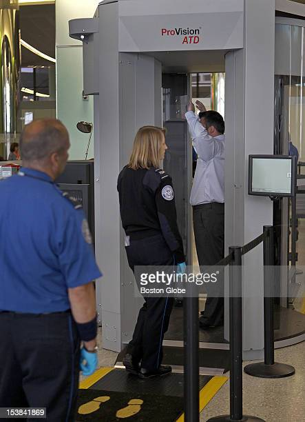 TSA is using a new type of advanced imaging technology a type of body scanner recently installed at Logan International Airport which comes with...