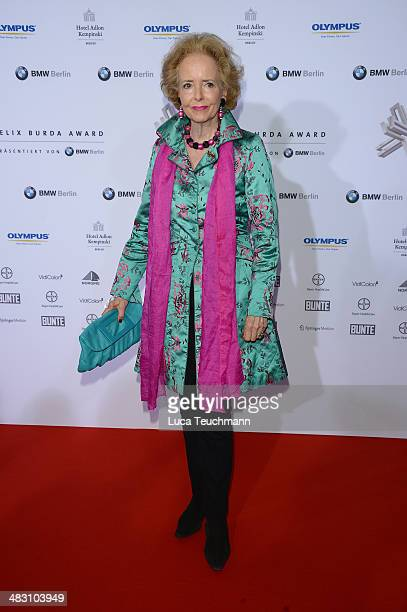 Isa von Hardenberg attends Felix Burda Award 2014 at Hotel Adlon on April 6 2014 in Berlin Germany