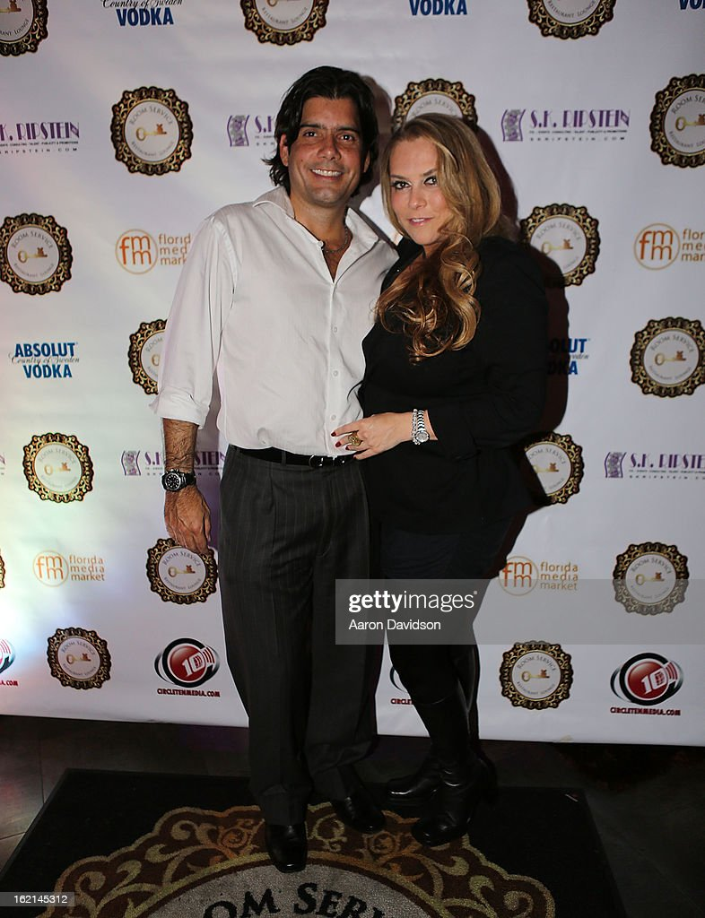 Isaac Ackermann Stephanie Kon Ripstein attend The Florida Media Market 2013 event hosted by Adriana Fonseca on January 31, 2013 in Miami Beach, Florida.