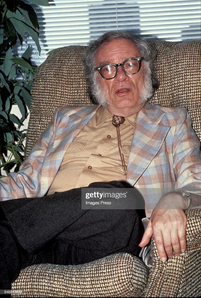 Isaac Asimov circa 1983 in New York City