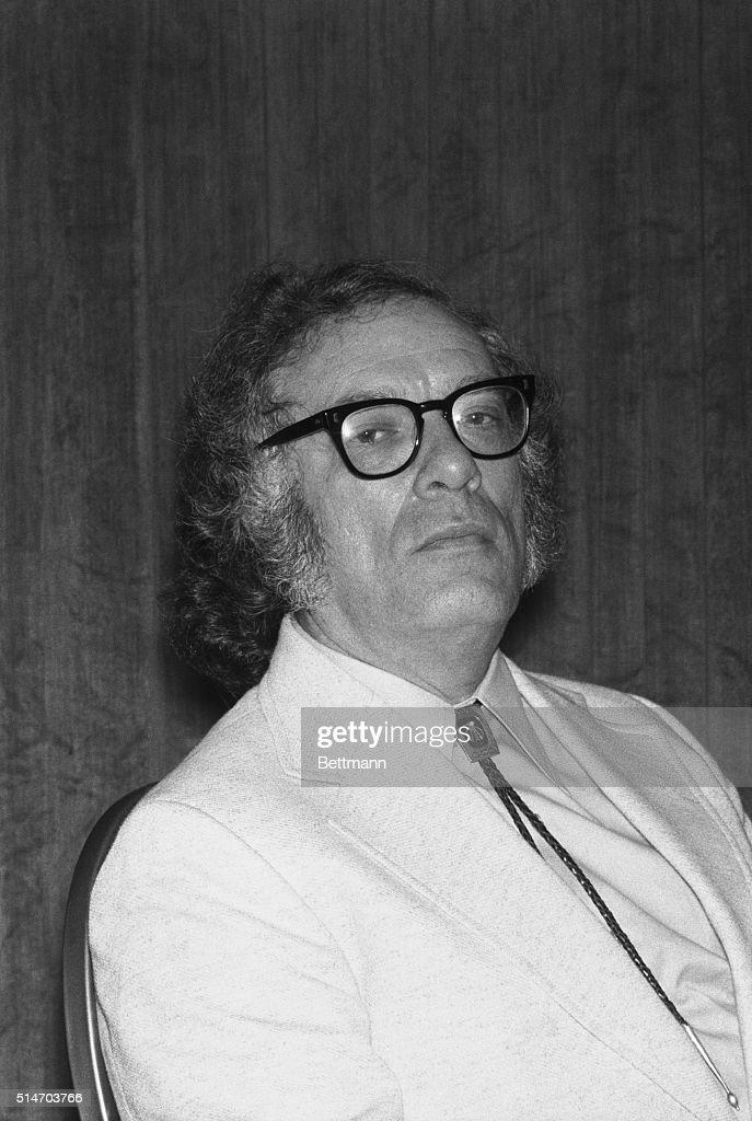 Isaac Asimov scientist writer 7/1/1974