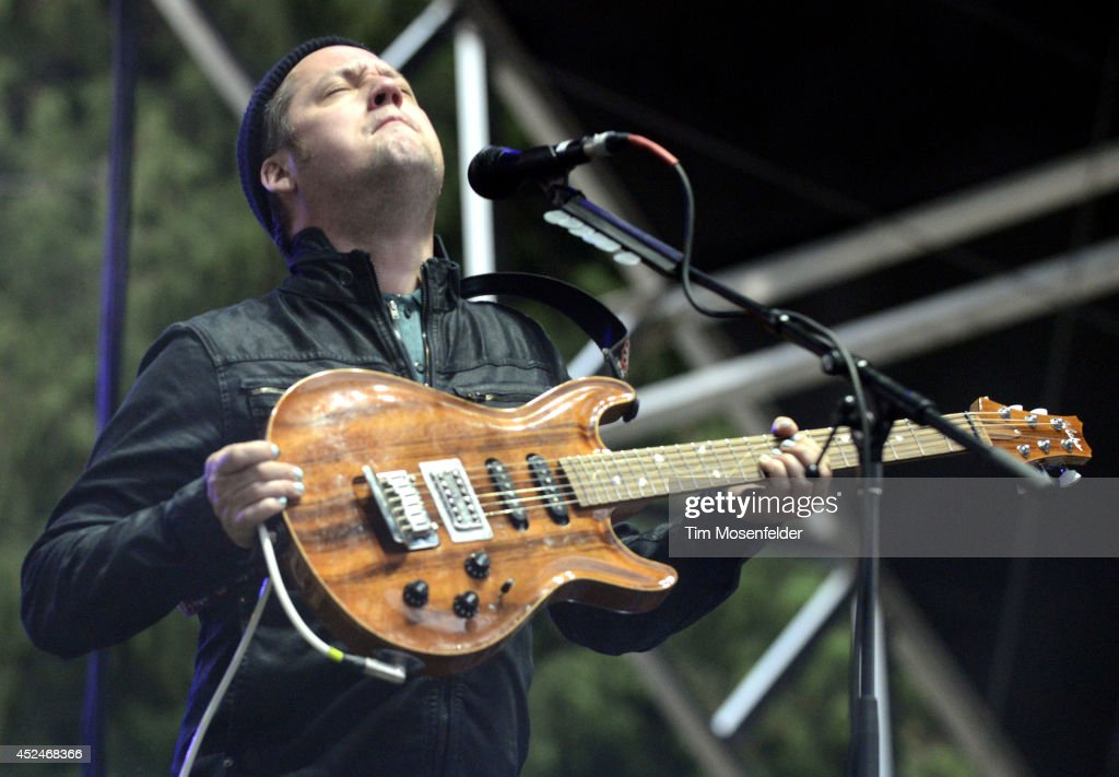 Isaac Brock of Modest Mouse performs during the Pemberton Music and Arts Festival on July 20, 2014 in Pemberton, British Columbia.